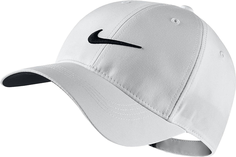 Aguanieve Sherlock Holmes tipo  Amazon.com: Nike Golf Tech - Gorra ajustable, color blanco: Clothing