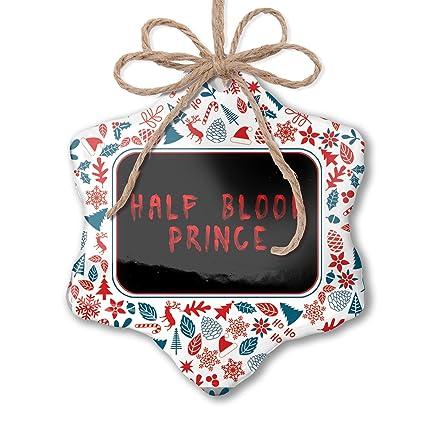 Prince Christmas Decorations.Amazon Com Neonblond Christmas Ornament Half Blood Prince