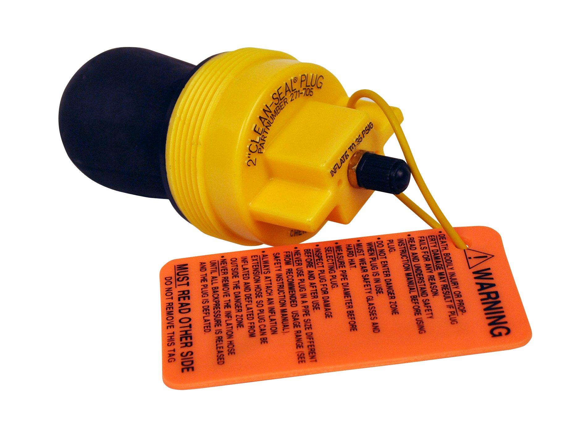 Oatey Oatey Cherne 271705 Clean-Seal 2-inch Plug