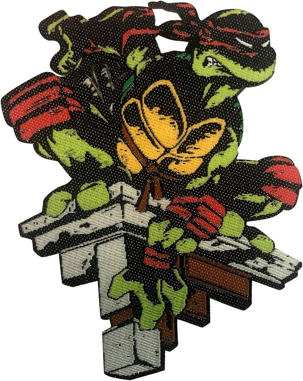 Nightwatch Raphael - TMNT Iron On Patch