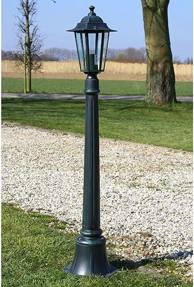 luckyfu Farola de jardín Preston 105 cm. lámparas solares de jardín lámparas solares jardín exterior Lámparas Solares Exterior Lámpara de jardín lámpara exterior: Amazon.es: Iluminación