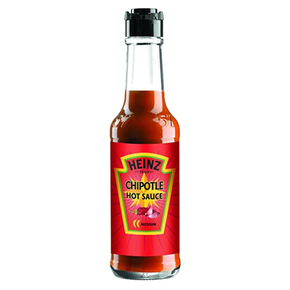 Heinz - Salsa Picante Chipotle, 150 ml - [Pack de 6]