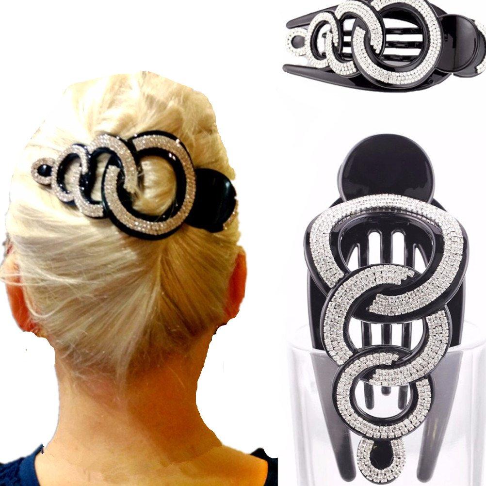 1 article tendance en strass pour femme - Pince à cheveux - cuhair cutrade