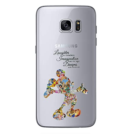 coque mickey galaxy s6 edge