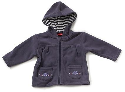 Salt & Pepper - Abrigo para niña violeta de 100% poliéster, talla: 86cm