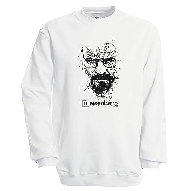 Heisenberg Breaking Bad Art Sudadera Unisex: Amazon.es: Ropa y accesorios