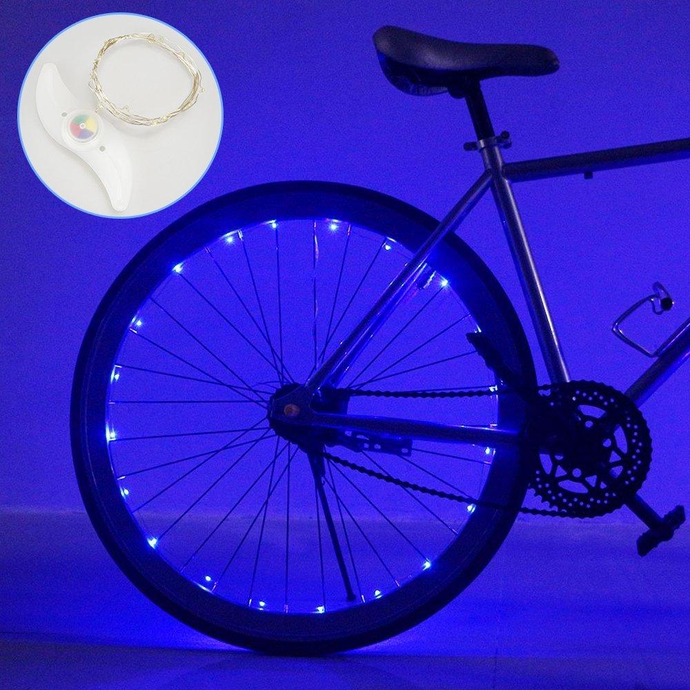 DIMY Gifts for Teen Boys, Bike Wheel Light Best Gifts for 6-15 Year Old Boys Girls Toys for 6-15 Year Old Boys Girls New Gifts Blue TTB02