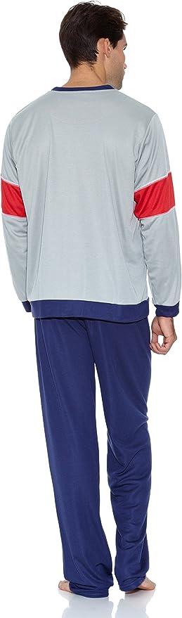KUMY Pijama Racing Azul Marino S: Amazon.es: Ropa