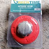 Cabezal desbrozadora aluminio universal automático GH02 10125: Amazon.es: Jardín