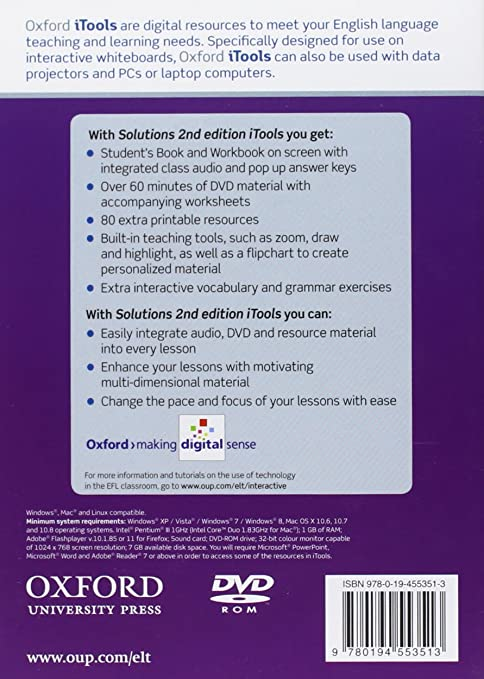 Amazon.com: Solutions 2nd Edition Intermediate Itool: Davies/Falla ...