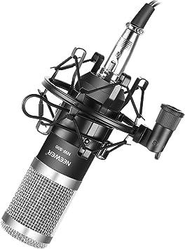 Amazon.com: Neewer NW-800 - Juego de micrófono, incluye 1 ...