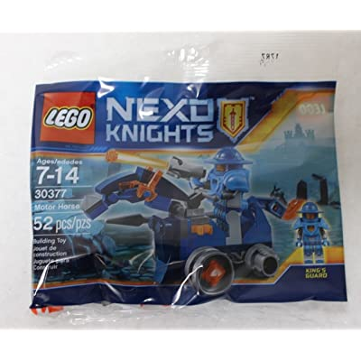LEGO 30377 Nexo Knights Motor Horse 52 piece Polybag Mini set: Toys & Games