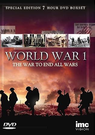 Amazon com: World War 1 (WW1) - The War To End War - 3 Disc Special