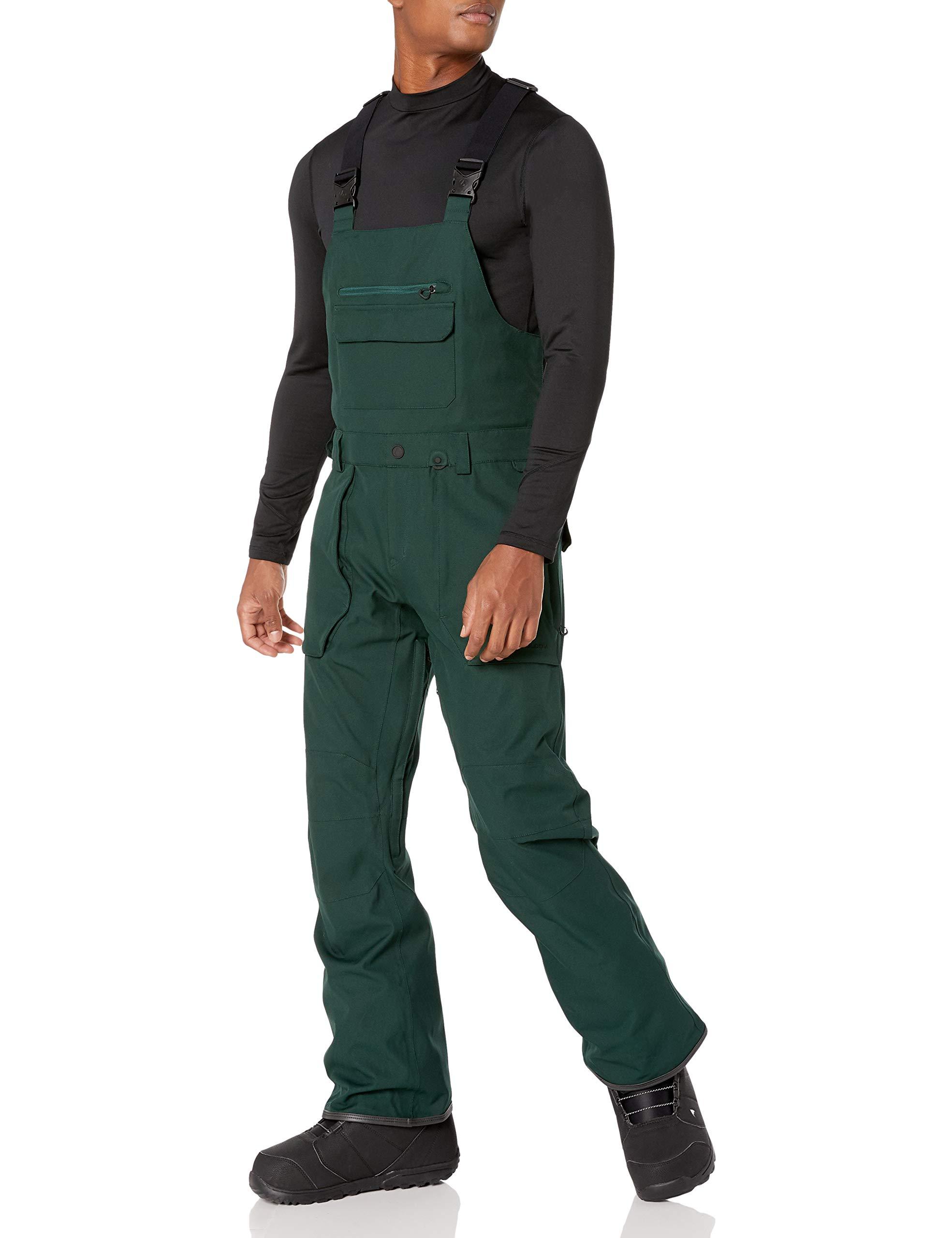 Volcom Mens Roan Bib Overall Snowboard Pant