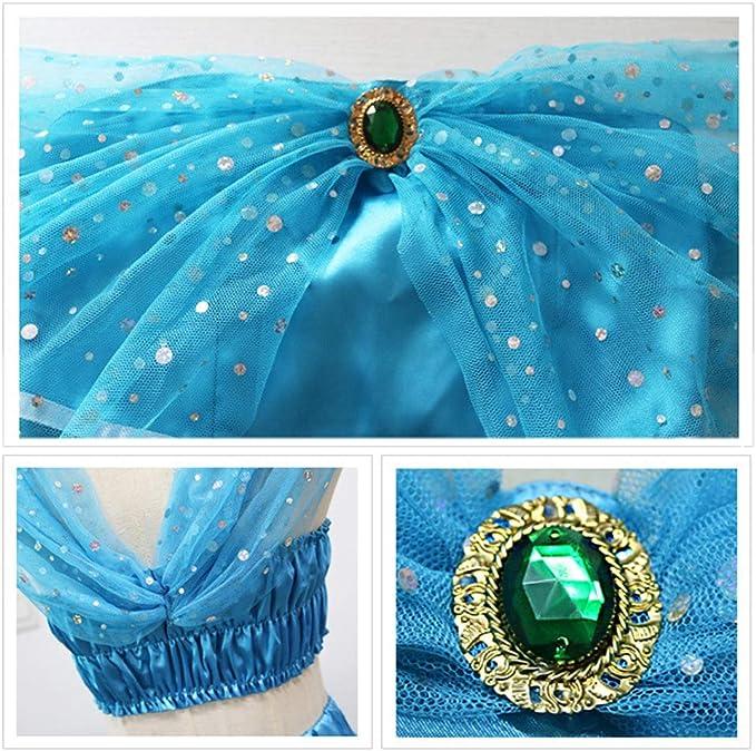 MASII El Príncipe árabe Aladdin La Sra. Jasmine Disfraces De rol ...
