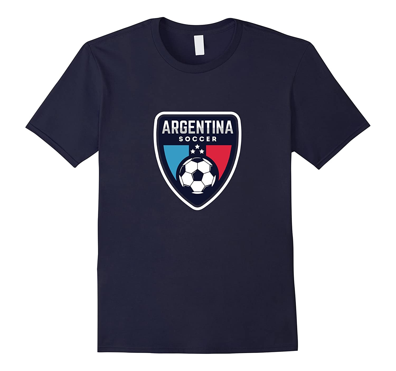 Camiseta de Argentina Soccer Jersey Tee Shirt-TH