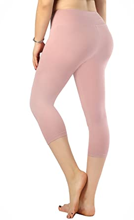 80b0792616917 Zinmore Womens Skinny Yoga Capri Pants Fitness Active Workout Pants Hidden  Pockets Boto Pink M: Amazon.co.uk: Clothing