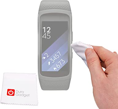 DURAGADGET Paño/Gamuza para Smartwatch Samsung Gear Fit 2: Amazon ...