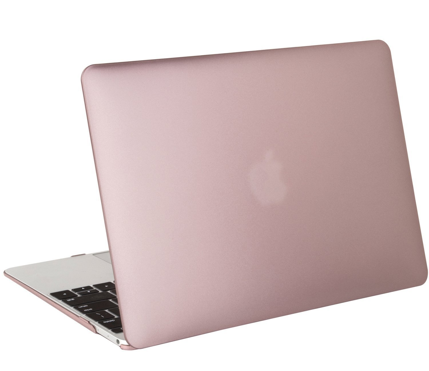 quality design 5cb22 79d5b MOSISO Plastic Hard Shell Case Cover Compatible MacBook 12 Inch Retina  Display Model A1534 (Version 2017/2016/2015), Rose Gold