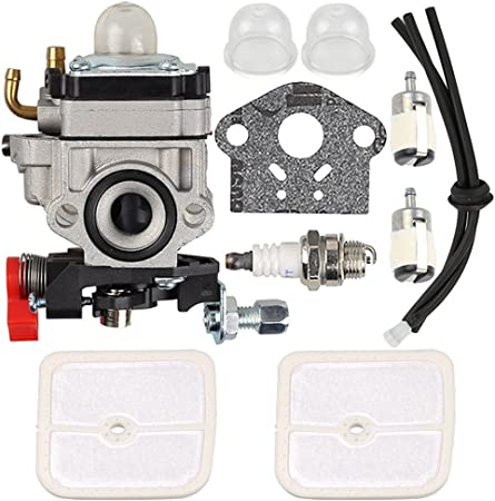 Amazon.com: butom wyk-186 carburador con Tune Up Kit para ...