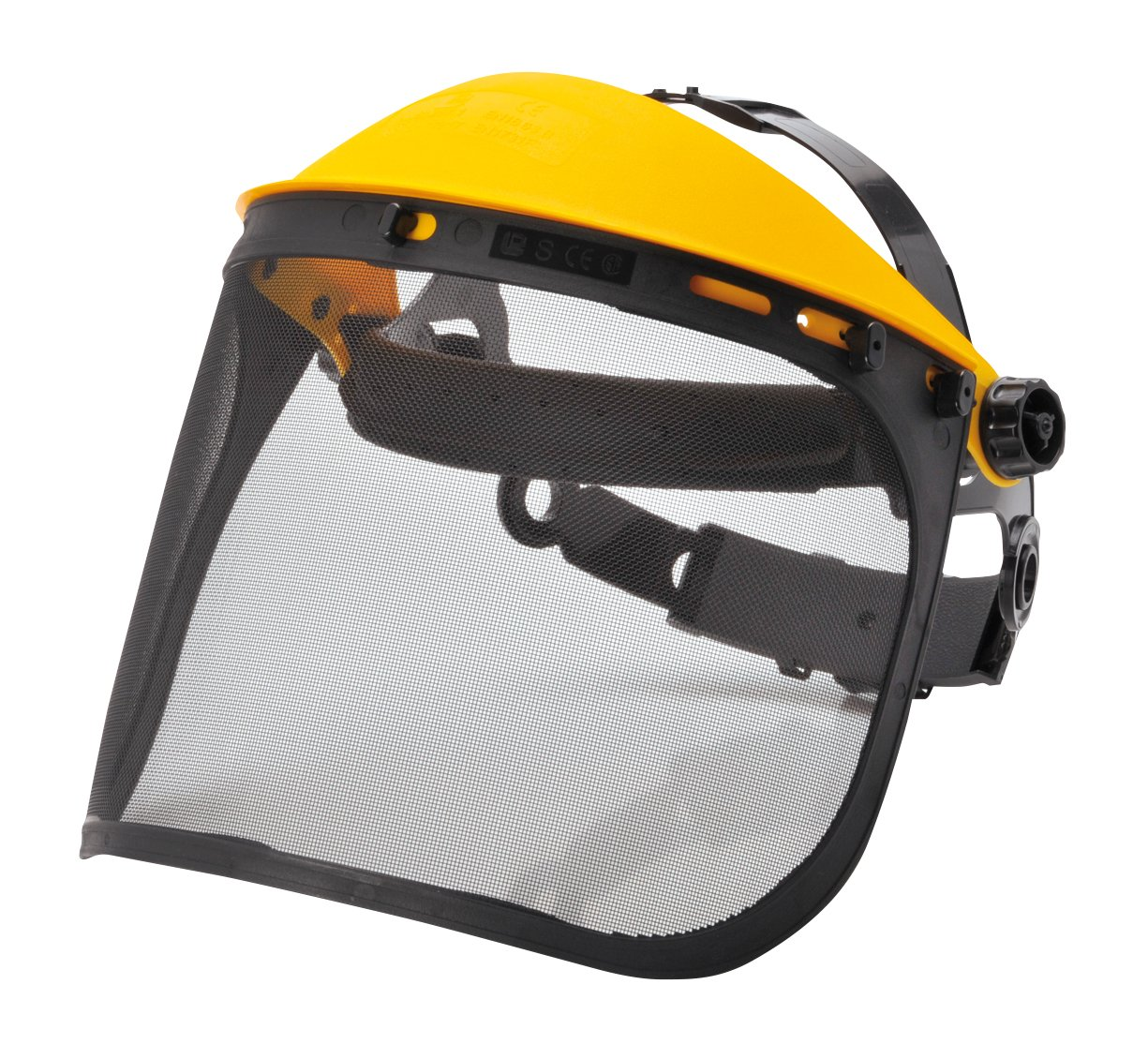 Face Shield Browguard And Steel Mesh Safety Visor Spire
