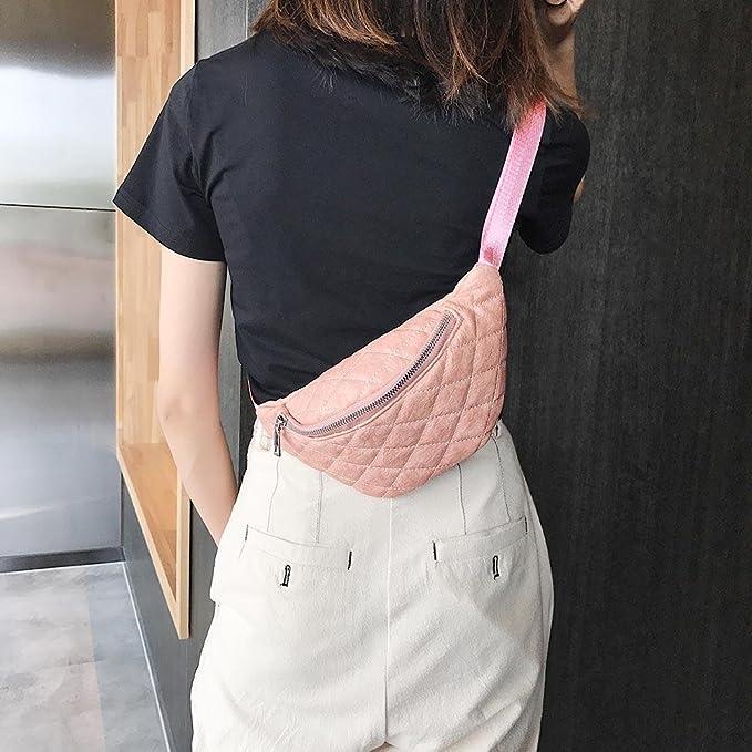 xintiandi Solide Couleur Femme Tour de Taille Packs Trendy Simple PU épaule  décontracté Ceinture Sacs, C  Amazon.fr  Sports et Loisirs b4fd413fef5