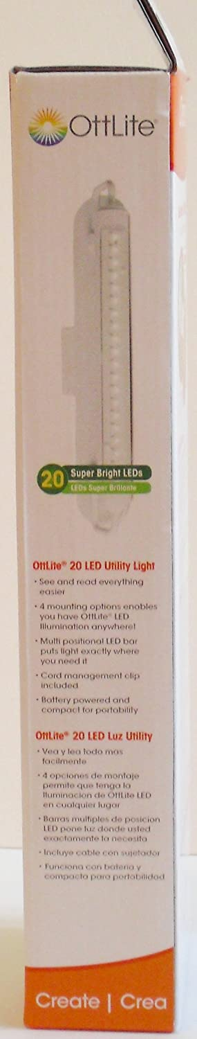 Amazon.com: Creative HD OttLite 20 LED Utility Light: Arts, Crafts & Sewing