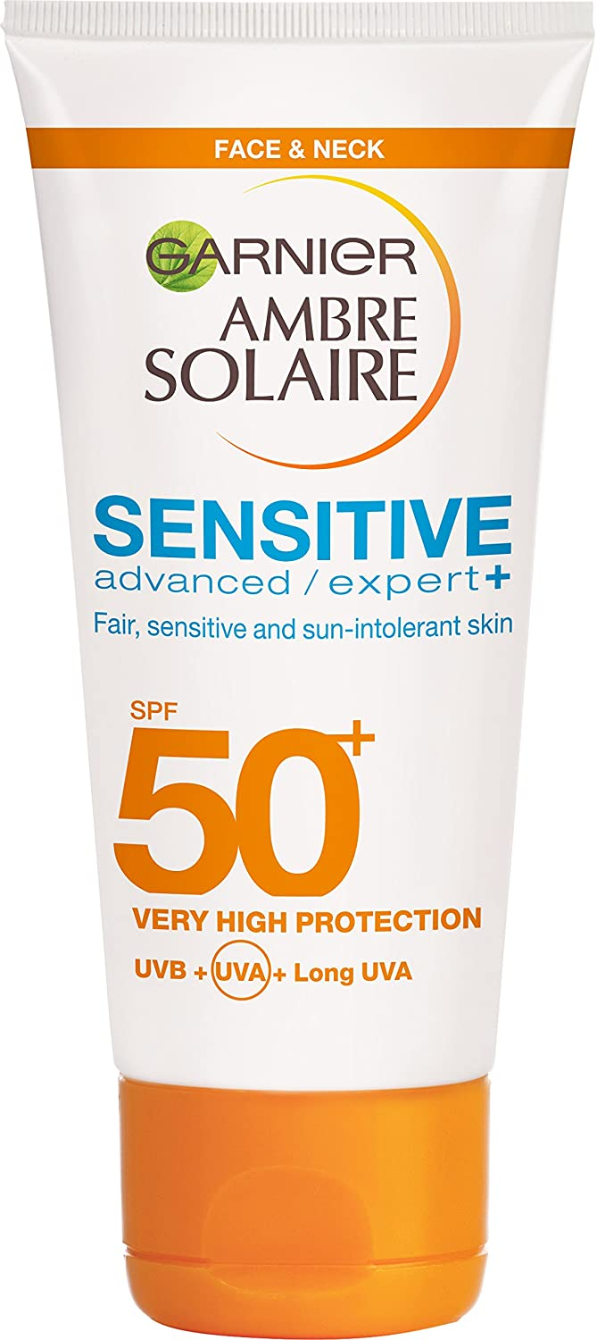 Ambre Solaire Sensitive Nourishing Protective Sun Oil SPF50+ 150ml Garnier 3600541602571