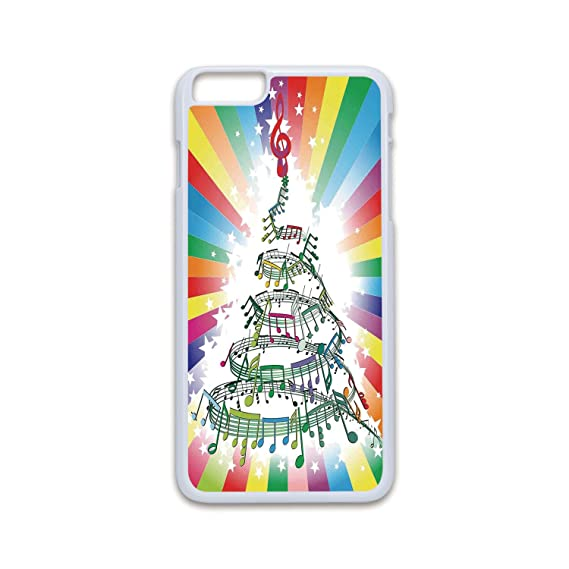 phone case compatible with iphone6 plus iphone6s plus 2d print fashion white edgejazz music