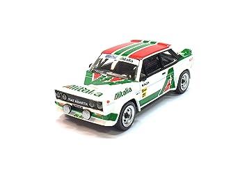 MCG Bburago Racing 1:43 - Fiat 131 Abarth Rally grupo 4: Amazon.es: Juguetes y juegos