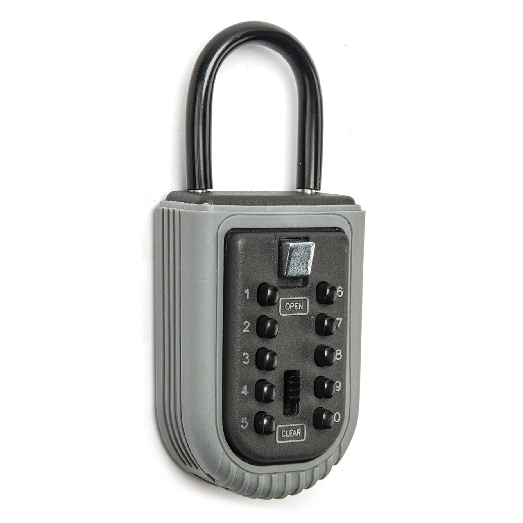 CO-Z Wall Mounted Key Lock Box Waterproof with 10-Digit Push Button Combination for Guests, Tenants, Realtors, Contractors, Spare Key Storage at Home or Office by CO-Z (Image #6)