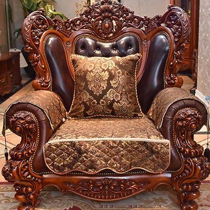 Amazon.com: GDJVXCFV European Style Sofa Pad/Luxury High-end Sofa ...