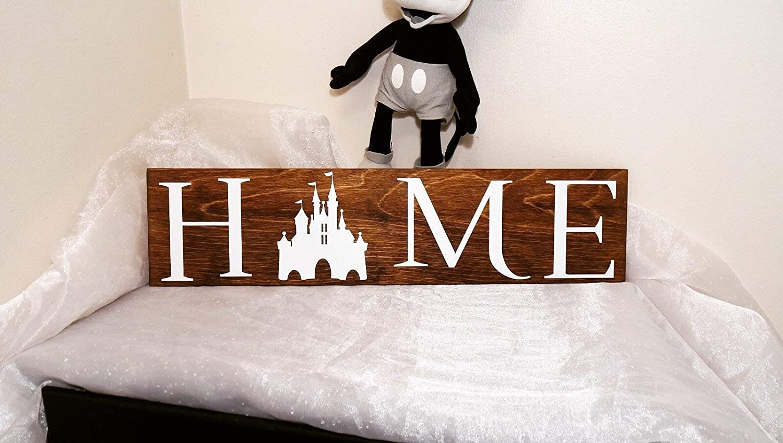 Disney home sign home sign disney sign we do disney home decor wall decor sign disney mickey castle disney castle mickey sign