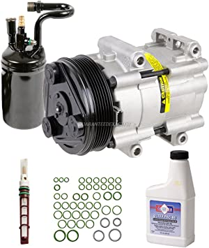 Complete AC A//C Repair Kit w// NEW Compressor /& Clutch ford Ranger 1995