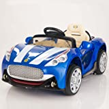 Maserati Style 12V Kids Ride On Car Battery Powered Wheels Remote Control Blue