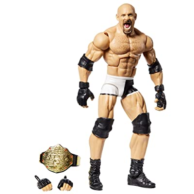 WWE Goldberg Wrestlemania Action Figure: Toys & Games
