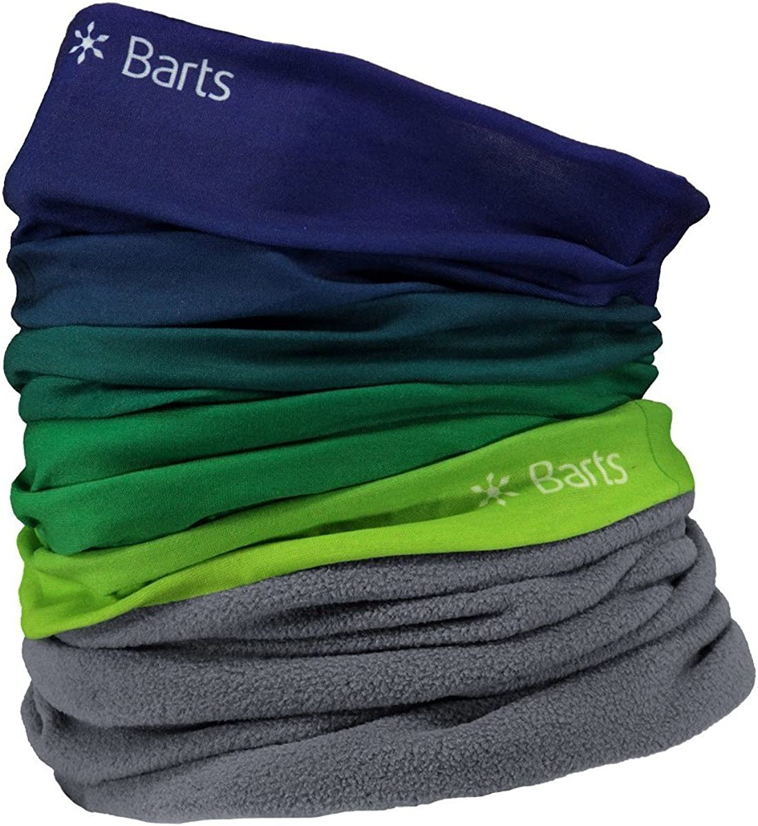 Barts Multicol Polar Dip Dye Scarf