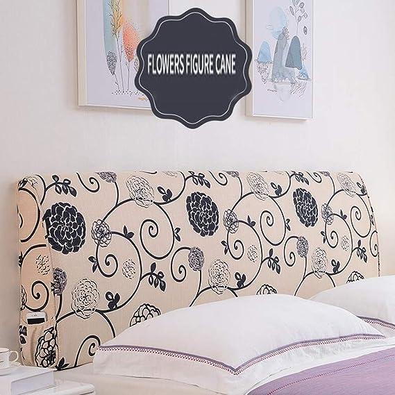 Amazon.com: HTY algodón y lino 5.9 in grueso cama curvada ...