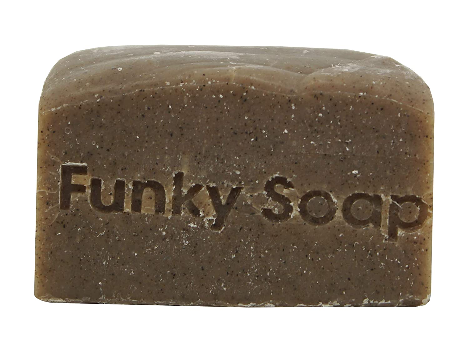 Funky Soap Algas Marinas y Rhassoul Clay Champú 100% Natural Hecho a Mano, 1 Barra de 120g