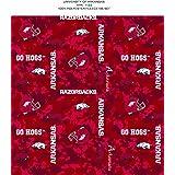 NCAA Arkansas Razorbacks 48 x 60 Lightning Fleece Blanket