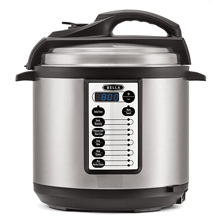 Top 5 Bella Electric Pressure Cooker