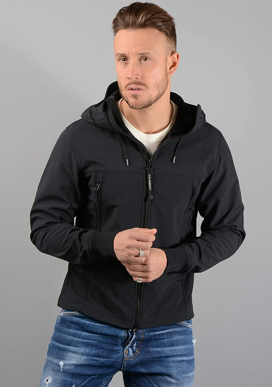 CP Company Mens 05CM0W001A Goggle Jacket in Black