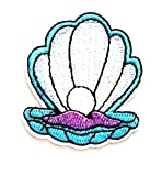 Nipitshop Patches Small Blue Shellfish Patch Shell