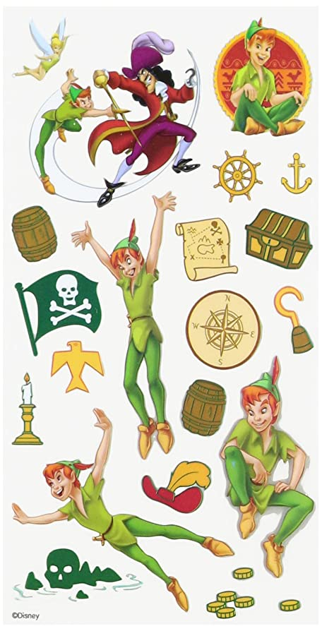 Disney Peter Pan Sticker: Amazon.co.uk: Kitchen & Home