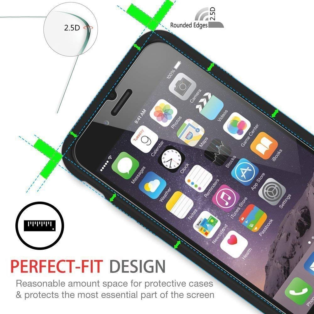 9H Hardness with Oleophobic Coating 0.3mm Free Shipping From USA eTECH Collection 1 piece of Premium Tempered Glass Screen Protector for Apple iPod Touch 5th Generation