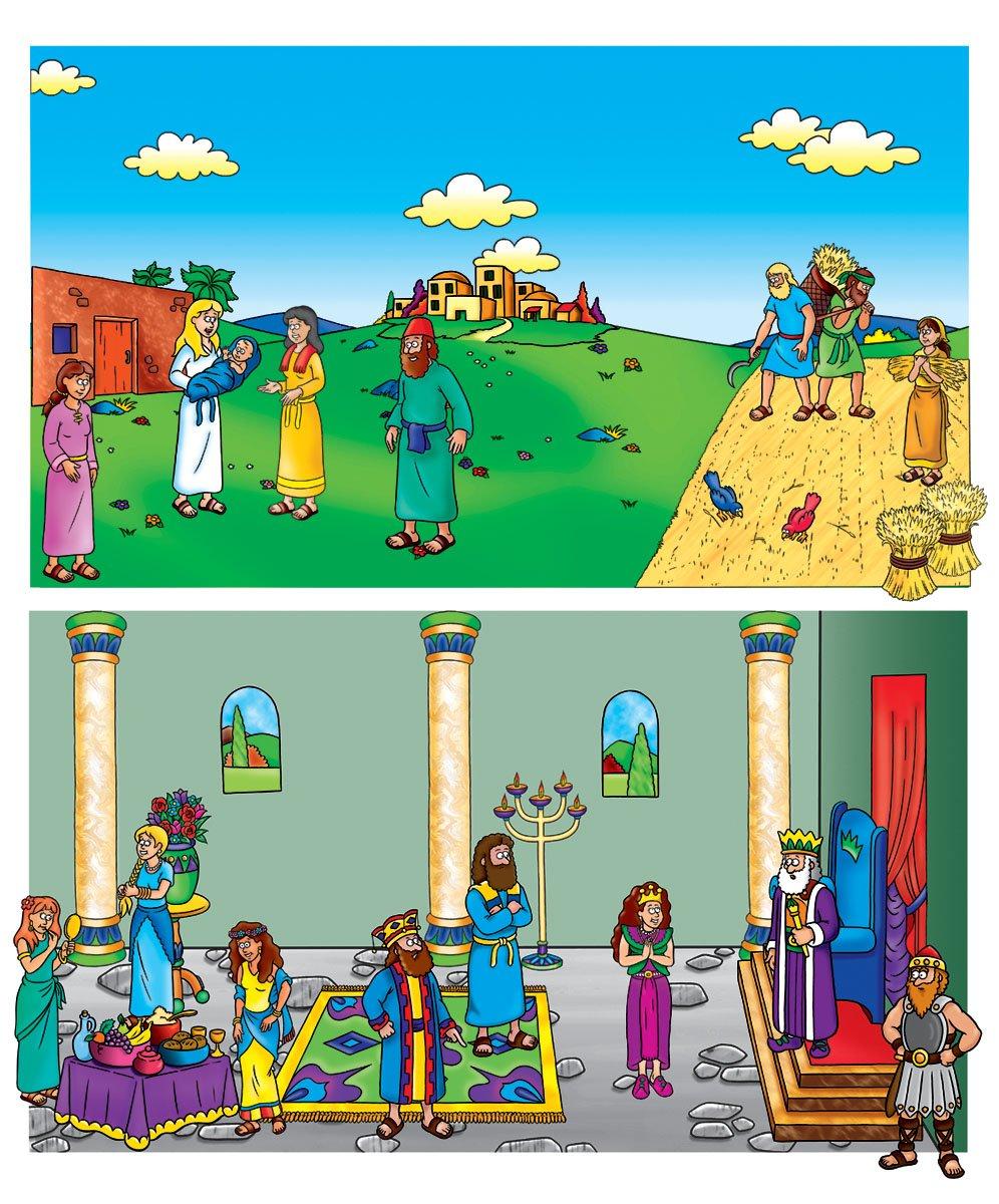amazon com complete beginners bible felt figures backgrounds