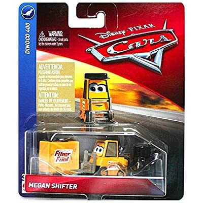 Megan Shifter Dinoco 400 Disney Cars Diecast 1:55 Scale: Toys & Games