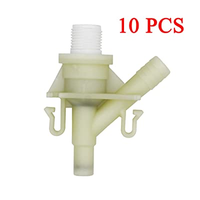 iFJF New Durable Plastic Water Valve Kit 385311641 for 300 310 320 Series - for Sealand Marine Toilet Replacement (10 PCS): Automotive