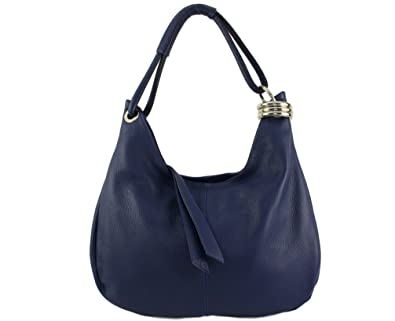 Damen Henkeltasche Blau marineblau CHLOLY HU7eMrE