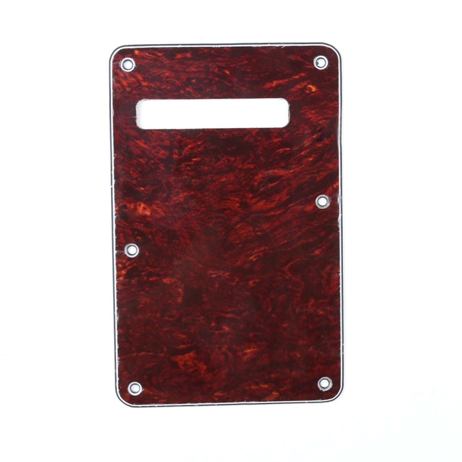 Best Rated In Electric Guitar Parts Helpful Customer Reviews Fendertbxpottelecasterwiringdiagramjpg Musiclily 4ply Strat Tremolo Cavity Cover Backplate For Fender Stratocaster Guitarred Tortoise Product